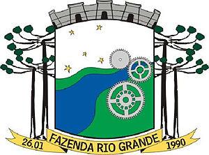 Fazenda Rio Grande - Image: Brasao fazenda riograndepr