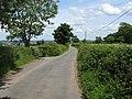Bredenbury - lane to Edwyn Ralph - geograph.org.uk - 847001.jpg