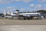 Breitling (Super Constellation Flyers) Lockheed L-1049F Super Constellation HB-RSC (29302446906).jpg