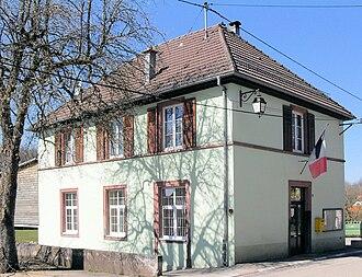 Bretten, Haut-Rhin - The town hall in Bretten