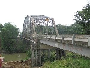 Bayou Macon - Image: Bridge over Bayou Macon east of Epps, LA IMG 7435