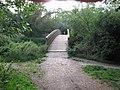 Bridge over the River Loddon, Dinton Pastures Country Park - geograph.org.uk - 1416133.jpg