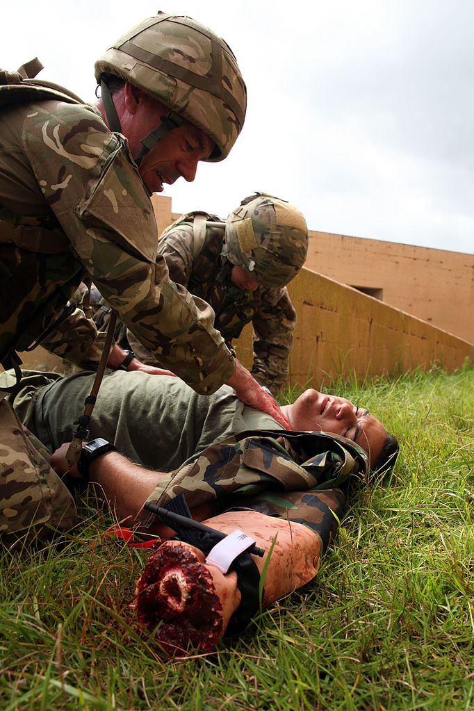 file british army sgt  george p h  colquhoun  left  a