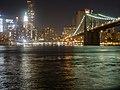 Brooklyn Bridge at Night with Lower Manhattan Skyline.jpg
