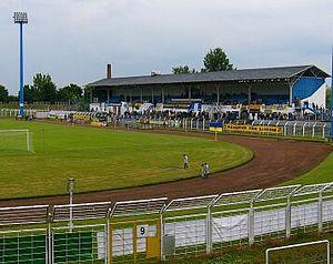 Bruno-Plache-Stadion - Image: Bruno Plache Stadion 4