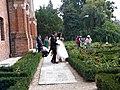 Bucuresti, Romania. PALATUL BRANCOVENESC de la MOGOSOAIA. (Alaiul cu mireasa in gradina de trandafiri) (IF-II-a-A-15298).jpg