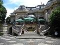 Bucuresti, Romania. Piata Lahovari. Casa Oamenilor de Stiinta (Imagine din gradina).jpg