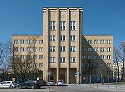 Budynek Kierownictwa Marynarki Wojennej w Warszawie 2021.jpg