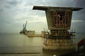 Building the Second Severn Crossing - 1993.jpg