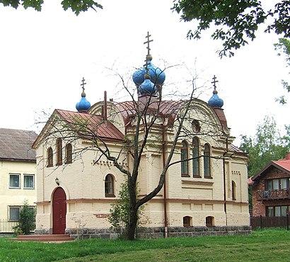 Kaip pateikti į Bukiškio Dievo Motinos Globėjos Cerkvė viešuoju transportu - Apie vietovę