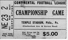 Bulldogs v Orlando Championship Ticket Game December 4, 1966.jpg