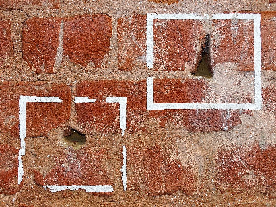 Bullet Holes in Wall from 1919 Amritsar Massacre - Jallianwala Bagh - Amritsar - Punjab - India (12675568575)