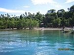 Pantai pulau Bunaken