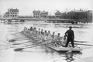 Cambridge University Boat Club - Image: Bundesarchiv Bild 102 12716, Cambridge, Rudertraining der Hochschulmannschaft