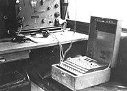 """Bundesarchiv Bild 146-2006-0188, Verschlüsselungsgerät """"Enigma"""""""