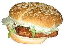 An Earlier Version Of The BK Big Fish Sandwich