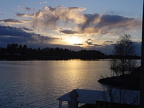 Burley Idaho Snake River Sunset.JPG