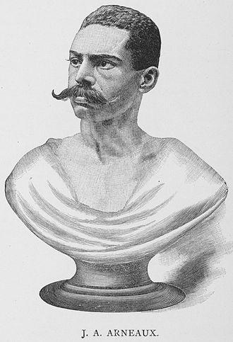 John A. Arneaux - Sketch of Bust of Arneaux from 1887