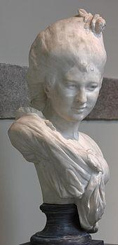 Buste de jeune femme by Auguste Rodin (musée des Beaux-Arts de Rennes, 887 126 1).JPG