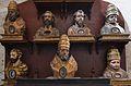 Busts reliquiaris de sants, monestir de la Trinitat, València.JPG