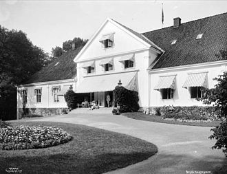 Bygdøy Royal Estate - Bygdøy Royal Estate in 1917