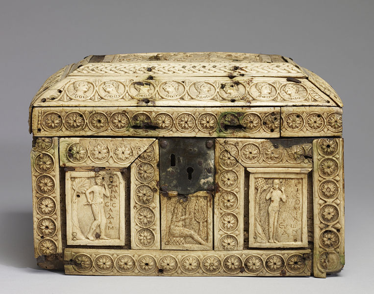 File:Byzantine - Box with Scenes from the Fall of Adam and Eve and the Story of Joseph - Walters 71295.jpg