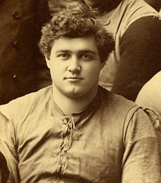 1894 Michigan Wolverines football team - Center and 1893 team captain C.H. Smith