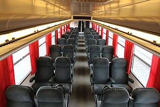 CFL Class 2000 - Image: CFL Class 2000 second class 2