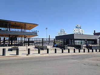 CHS Field - Exterior of the CHS Field