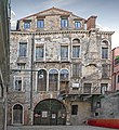 Ca' da Mosto facciata in Campiello del Leon Bianco (Venice).jpg