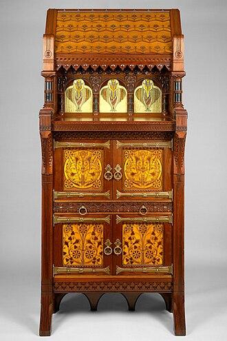 Modern Gothic cabinet - Image: Cabinet MET DT180