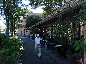Daikanyamachō, Shibuya - Image: Cafedaikanyama