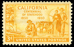 File:California statehood 1950 U.S. stamp.tiff
