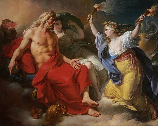 Callet - Jupiter and Ceres, 1777