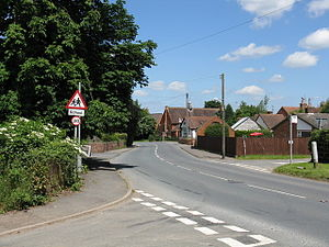 Callow End - Image: Callow End view toward the Club