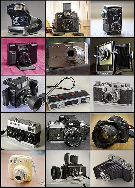 88a193367 Desde o topo e à esquerda  Polaroid P