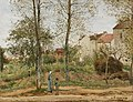 Camille Pissarro (French - Houses at Bougival (Autumn) - Google Art Project.jpg