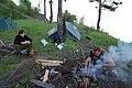 Camp near tunnel 31, Circum-Baikal Railway by trolleway, 2009 (32153146921).jpg