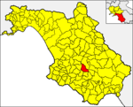 Locatio Camporae in provincia Salernitana