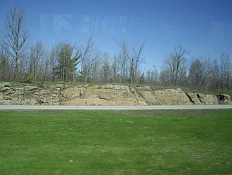 Pinawa - Typical Canadian Shield landform