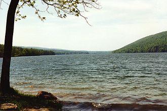 Canadice Lake - Canadice Lake in 1997.