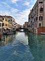 Canal in Venice at high tide in December.jpg