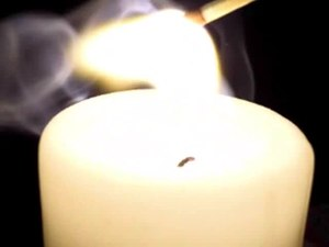 File:Candle and Match.ogv