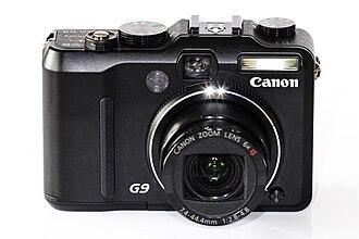 Canon PowerShot G - Canon Powershot G9