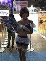 Capcom promotional model at Tokyo Game Show 20160916a.jpg