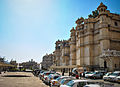 Car Parking in Udaipur City Palace,Rajasthan-Lakes&Palaces 06.jpg