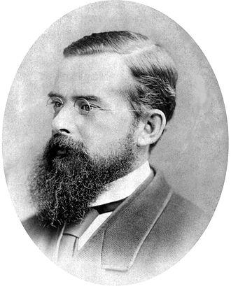 Carl Feilberg - Carl Feilberg about 1884 (photo: Albert Lomer, Queen Street, Brisbane)