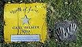Carl Palmer Asia auf dem Walk of fame im Kurpark von Bad Krozingen.jpg