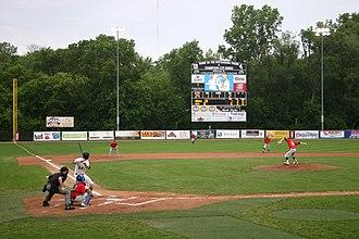 Champion City Kings - The Champion City Kings host the Danville Dans at Carleton Davidson Stadium in Springfield, Ohio on June 18, 2015
