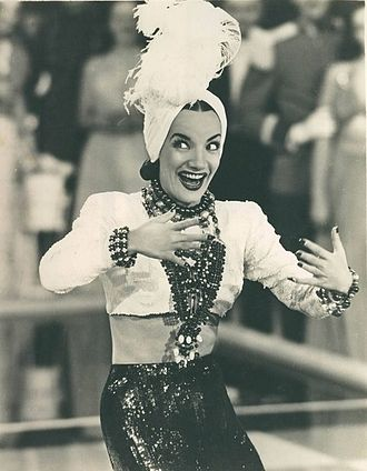 "Portuguese Brazilians - Singer Carmen Miranda, nicknamed ""the Brazilian bombshell"", was born in Portugal and emigrated with  her family to Brazil in 1910, when she was ten months old."